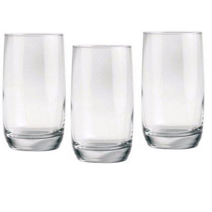 Set 3 pahare pentru long drink Luminarc Vigne 330 ml