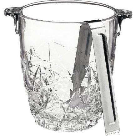 Recipient pentru gheață cu clește Bormioli Rocco Dedalo 900 ml