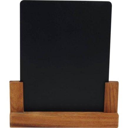 Suport pentru masă, din lemn de salcâm 21x4,5x24 cm, mărimea A5