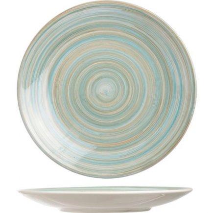 Farfurie plată Cosy&Trendy Turblino Blue 22 cm