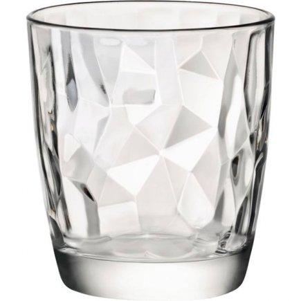 Pahar pentru apă Bormioli Rocco Diamond 305 ml, transparent