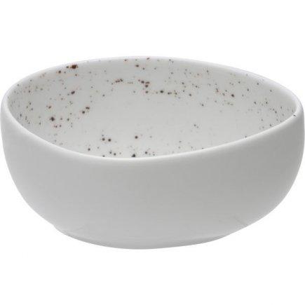 Castron asimetric Schönwald Pottery 330 ml, alb