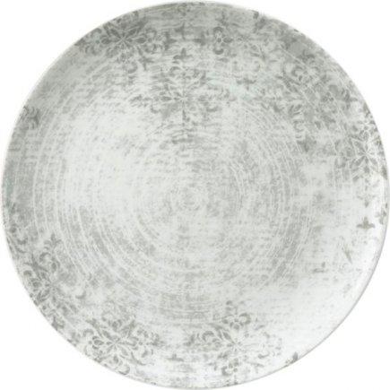 Farfurie plată Schönwald Shabby Chic 28 cm, cenușie, decor 63071