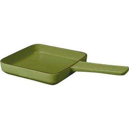 Castron pentru copt de ceramică Gusta Oven To Table 33x19x5 cm, verde