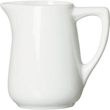Carafă pentru lapte Bianco 250 ml, albă