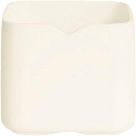 Castron rectangular Arcoroc Mekkano 210 ml, alb