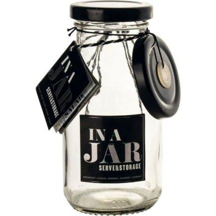 Pahar cu capac și pai Gusta In a Jar 250 ml