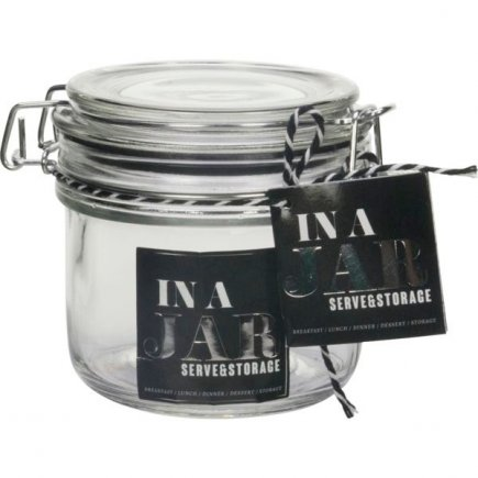Borcan conserve cu închidere cu arc Gusta In a Jar 370 ml