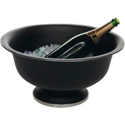 Frapieră pentru șampanie Gastro 41 cm, neagră