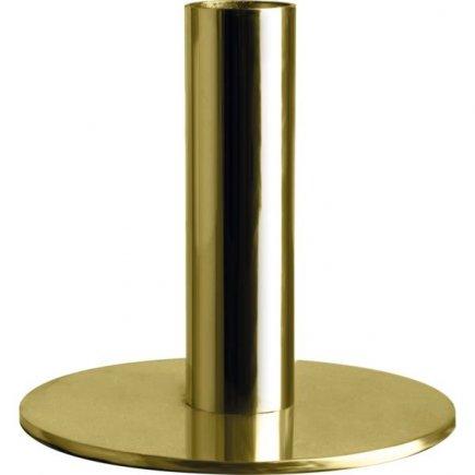 Suport pentru lumânare Gusta 6,8 cm, auriu