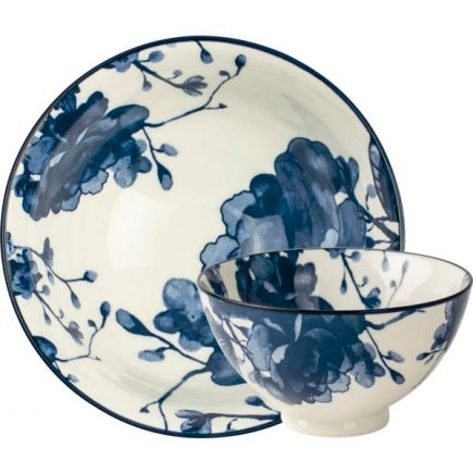 Castron Gusta Out Of The Blue 13,5 cm, decor bujor