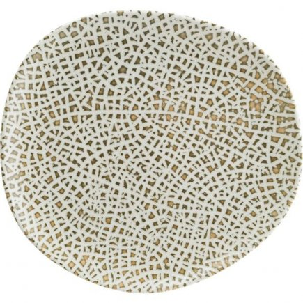 Farfurie întinsă Bonna Lapya Wood 36 cm